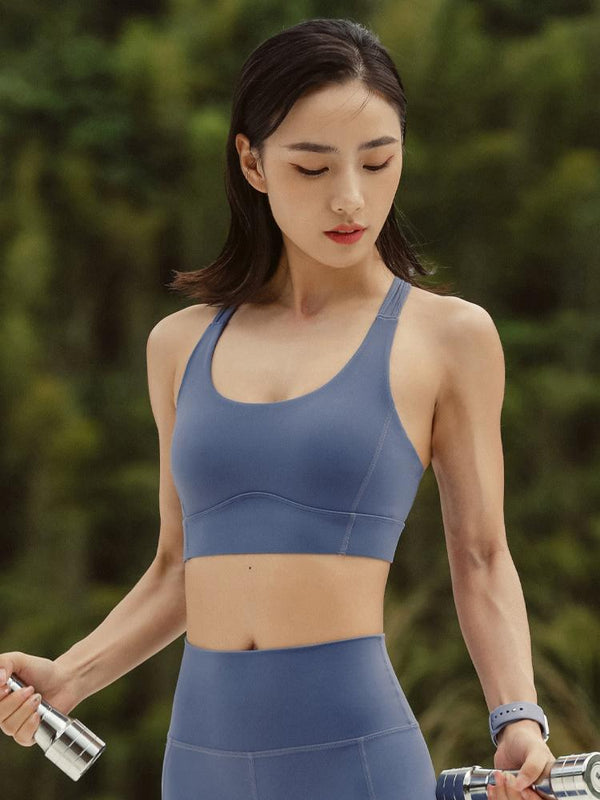 Sloli Anti Vibration Quick Dry Sports Bra