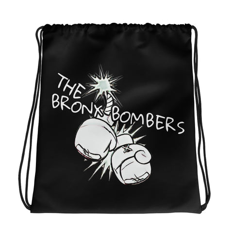 The Bronx Bombers Drawstring bag