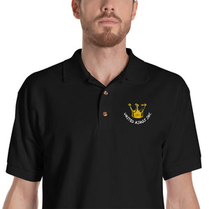 United Kings Inc Embroidered Polo Shirt
