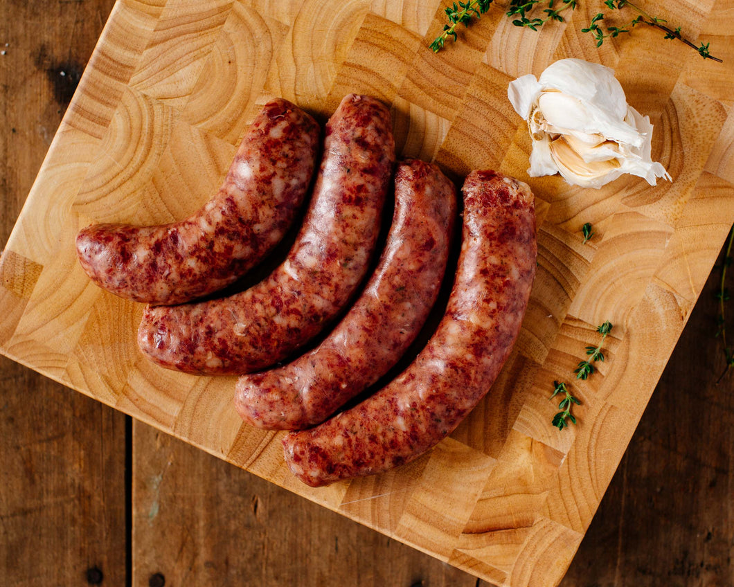 Smoked Andouille Sausage, Pasture-Raised, abt 1 pound