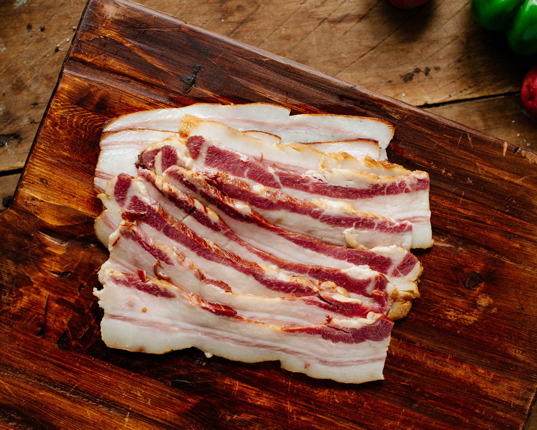 Smoked and Cured Bacon, Pasture-Raised, .75 lb