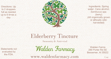 Load image into Gallery viewer, Elderberry Tincture, 1 oz.