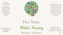 Load image into Gallery viewer, Fire Tonic, 16 oz