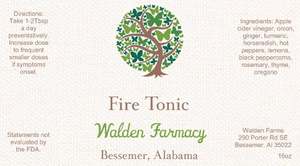 Fire Tonic, 16 oz