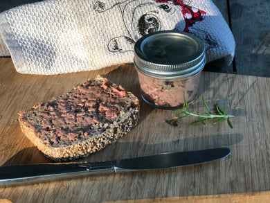 Chicken Liver and Mushroom Mousse, 3.5 oz.