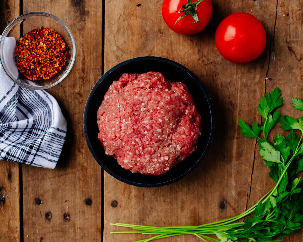 100% Grass-Fed Ground Beef with Bacon, 1 pound