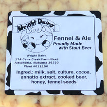 Load image into Gallery viewer, Fennel & Ale (Flavored Cheddar)