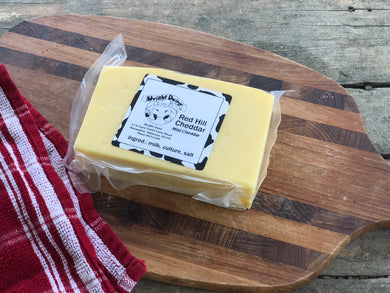 Image of Red Hill Cheddar from Wright Dairy in Alexandria, AL