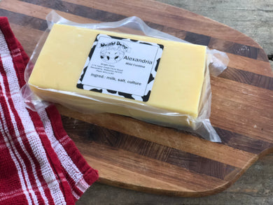 Image of Alexandria Cheese (mild fontina) from Wright Dairy in Alexandria, AL