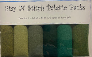 Stay 'N Stitch Palette Pack ~ Envy #4