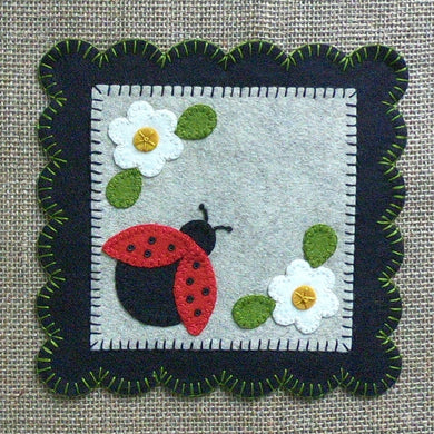Lady Bug Primitive Mini