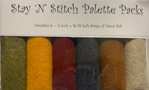 Stay 'N Stitch Palette Pack ~ Primitive