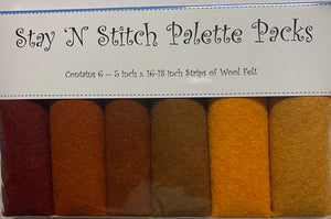 Stay 'N Stitch Palette Pack ~ Harvest