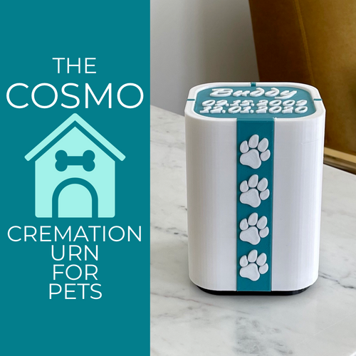 The Cosmo - Cremation Urn Dogs, Cats, & Pet Ashes