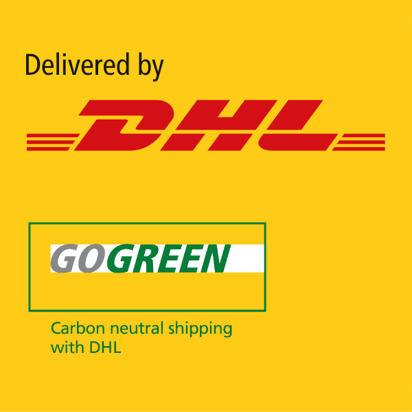 Carbon free delivery via DHL
