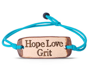 HopeLoveGrit bracelet