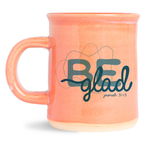 be glad image mug