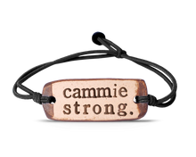 Load image into Gallery viewer, cammie strong. band