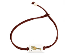 Load image into Gallery viewer, wildlife doodle bracelets | brown