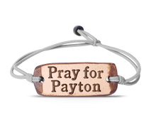 Load image into Gallery viewer, Pray for Payton band
