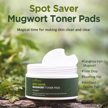 Load image into Gallery viewer, [ISNTREE] Spot Saver Mugwort Toner Pads 60ea