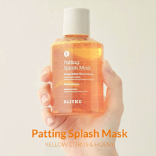 Load image into Gallery viewer, [Blithe] Patting Splash Mask Energy Citrus & Honey 150ml