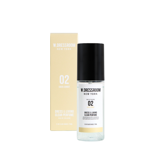 [W.DRESSROOM] Dress & Living Clear Perfume No.2 COCONUT 70ml