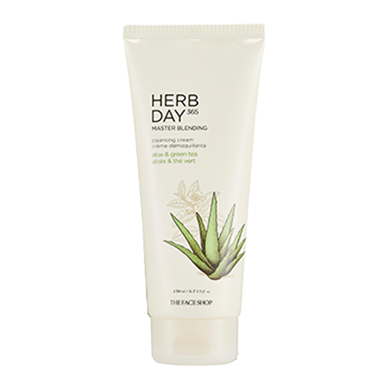 [THE FACE SHOP] Herb Day 365 Master Blending Cleansing Cream - Aloe & Green Tea 170ml