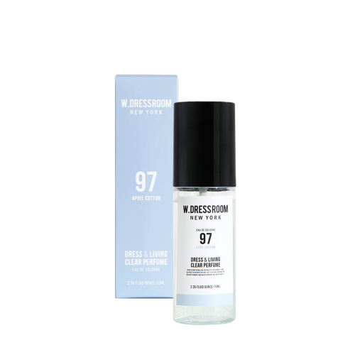 [W.DRESSROOM] Dress & Living Clear Perfume No.97 APRIL COTTON 70ml