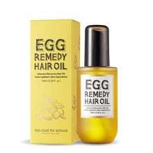 Load image into Gallery viewer, [too cool for school] Egg Remedy Hair Oil 100ml