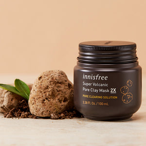[Innisfree] Jeju Super Volcanic Pore Clay Mask 2X 100ml