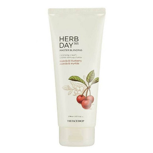 [THE FACE SHOP] Herb Day 365 Master Blending Cleansing Cream - Acerola & Blueberry 170ml