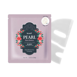 [Koelf] Pearl & Shea butter Mask (5ea)