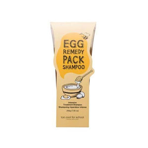 [too cool for school] Egg Remedy Pack Shampoo 200g