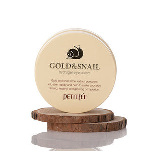 [Petitfee] Snail & Gold Hydrogel Eye Patch (60ea)