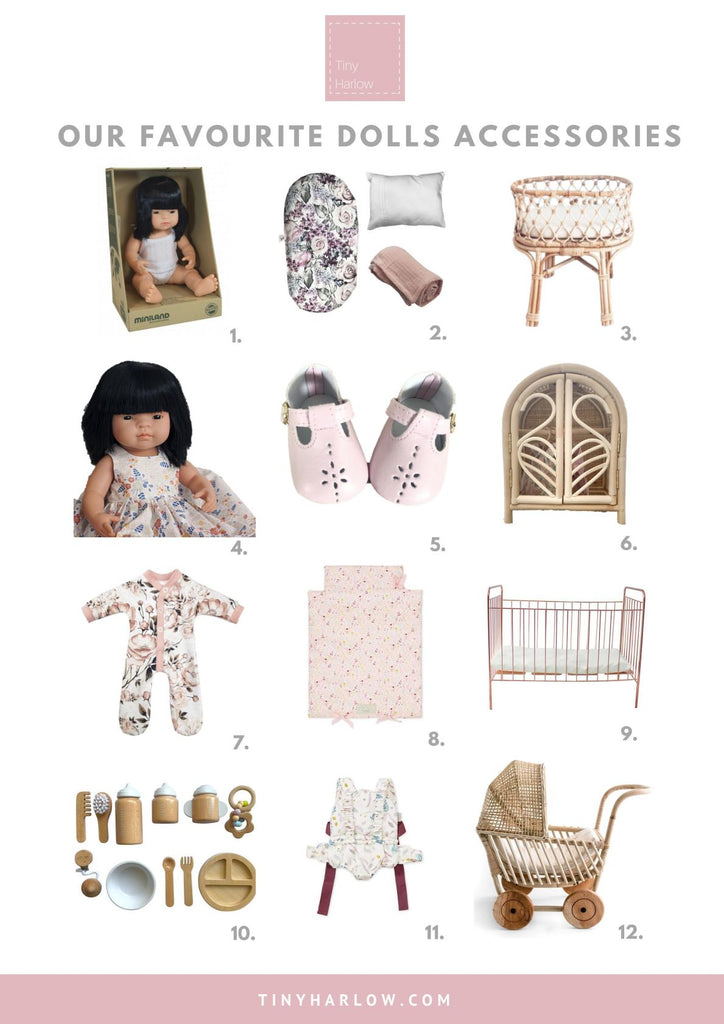 Tiny Harlow Top 12 Favourite Dolls Accessories