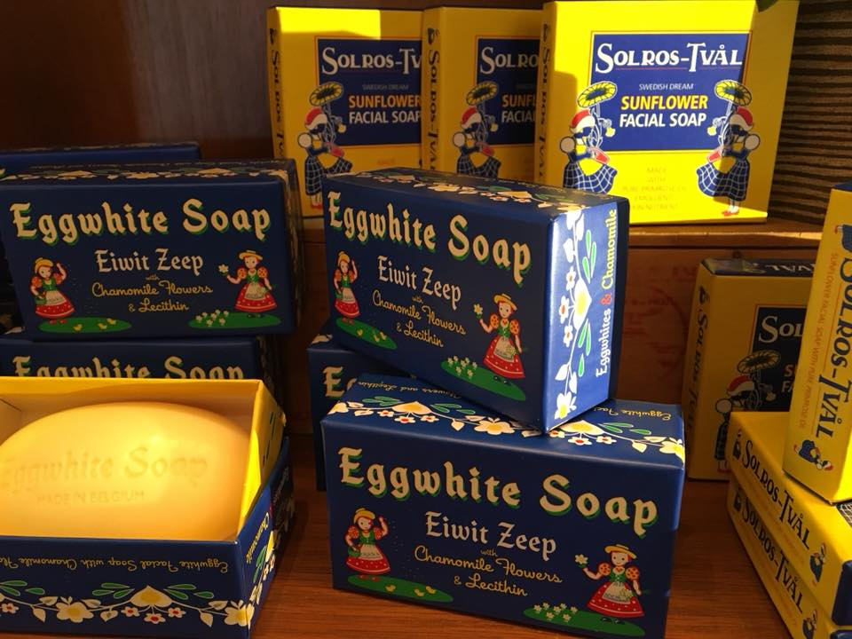 EggWhite Face Bar Soap