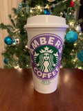 Personalized Reusable Grande Coffee Cup