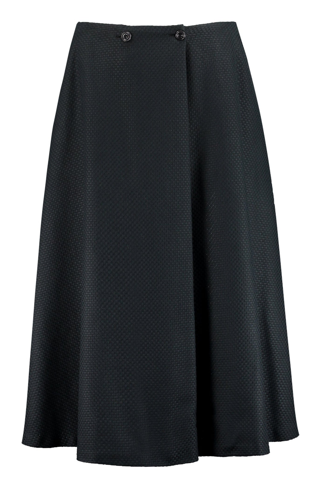 Organic Cotton Flared Midi Skirt - I'mdividual