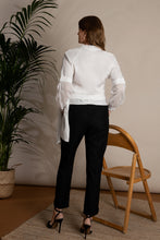 Load image into Gallery viewer, Organic Wool Cropped Black Trousers I'mdividual