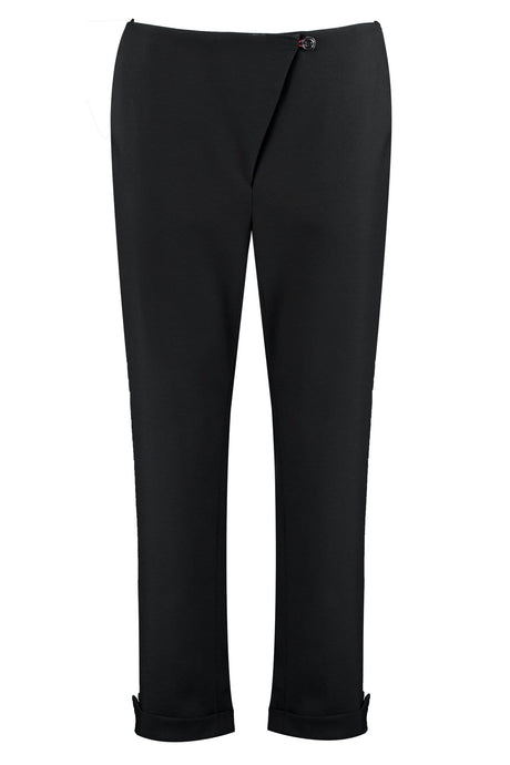 Organic Wool Cropped Trousers - I'mdividual
