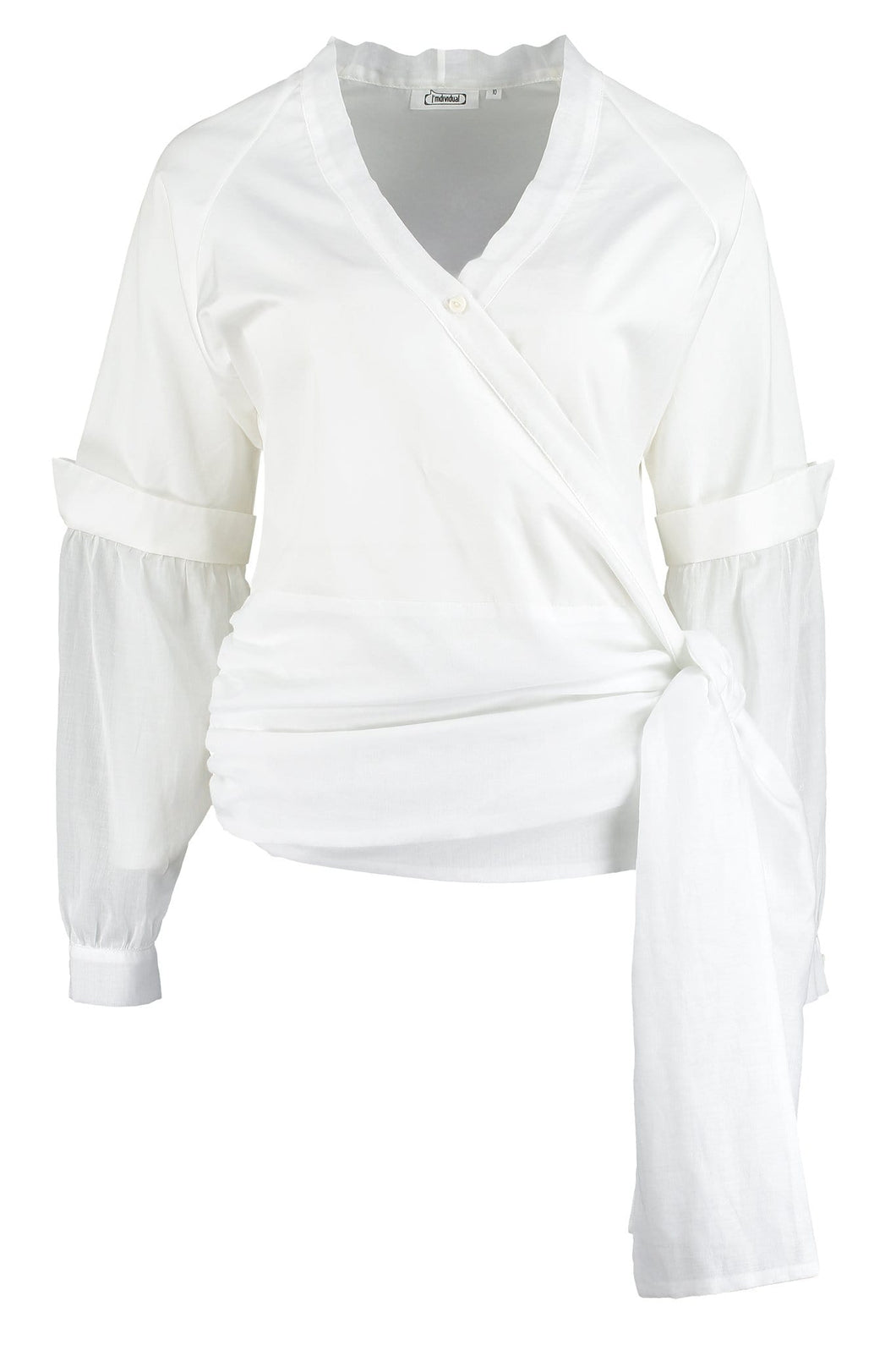 Organic Cotton Wrap Shirt - I'mdividual