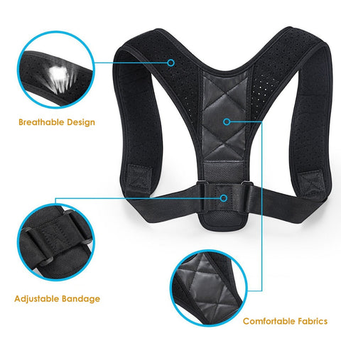 Fully Adjustable Posture Corrector