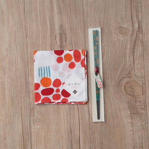 Bento Gift Set - Chopsticks (Cherry Blossom) +  bento® wrap