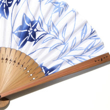 "Load image into Gallery viewer, Folding Fan  ""Chinese Bellflower"""