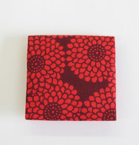 Coin Case (Chrysanthemum red)