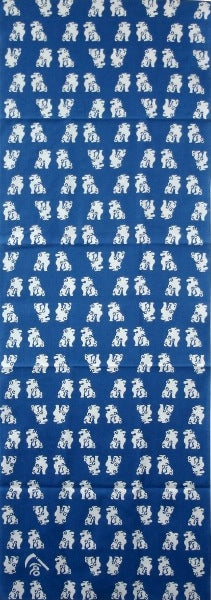 Stone guadian dogs (bice blue)
