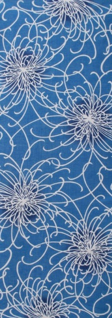 Chrysanthemums (light blue)