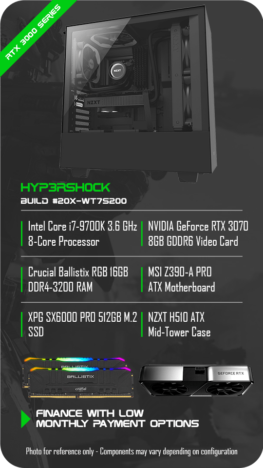 Hyp3rsh0ck Gaming PC