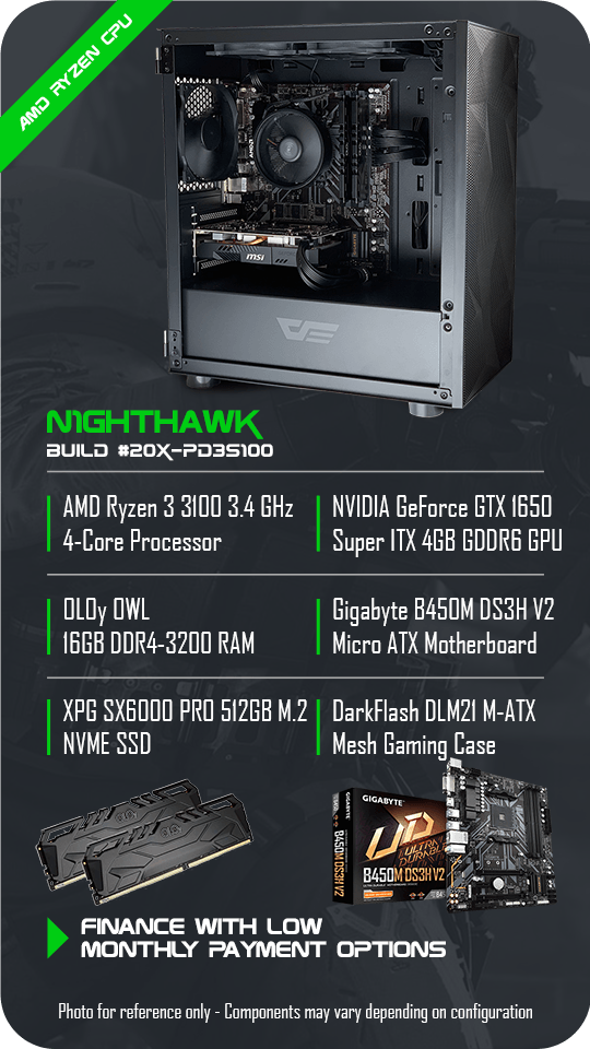 N1ghthawk Gaming PC